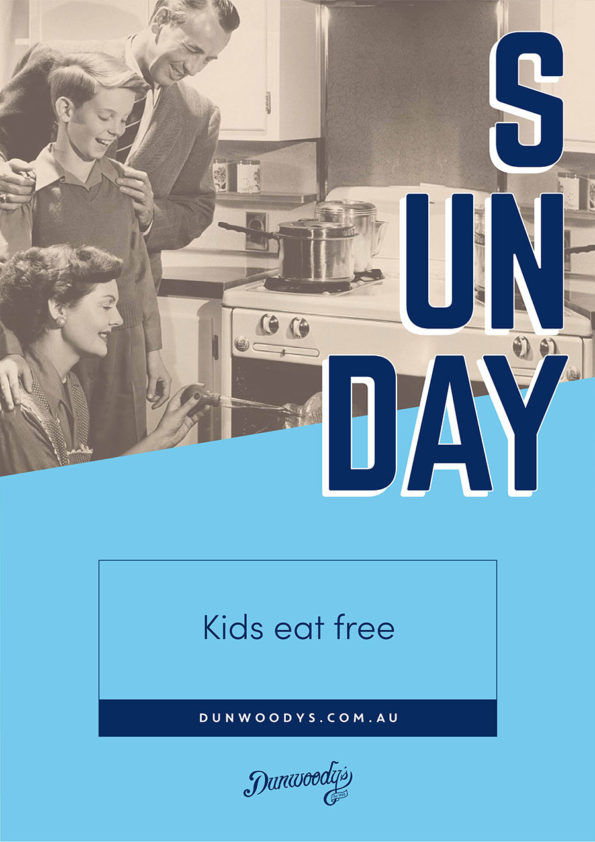 Kid's Eat Free - Sundays at Dunwoody's