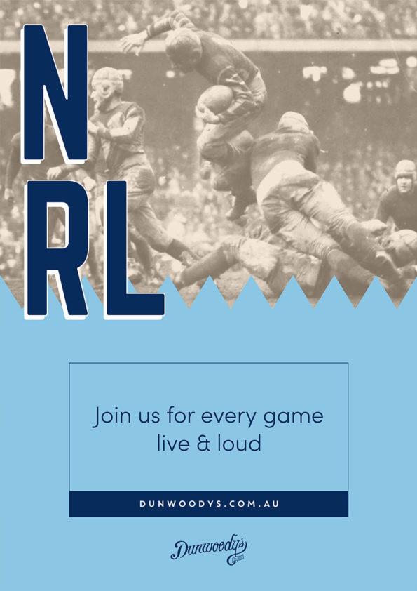 NRL Live & Loud - Dunwoody's Cairns